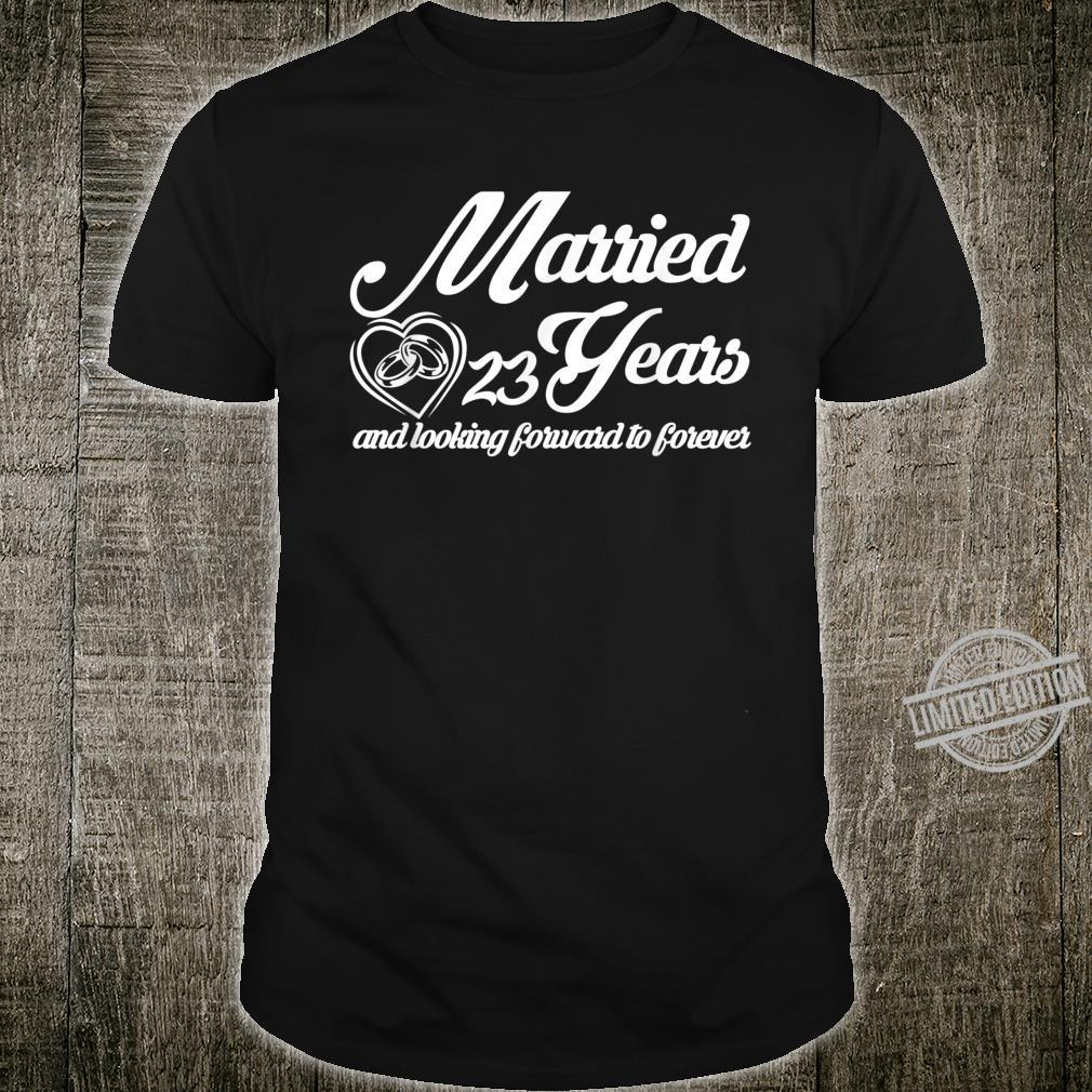 25th Wedding Anniversary Special Him Her Couple Shirt