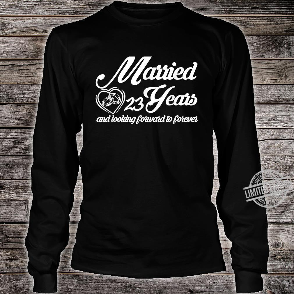 25th Wedding Anniversary Special Him Her Couple Shirt long sleeved