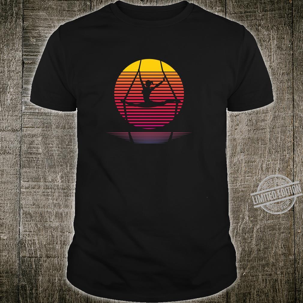 Aerial Yoga Silhouette Aerialist Yogi Dance Shirt