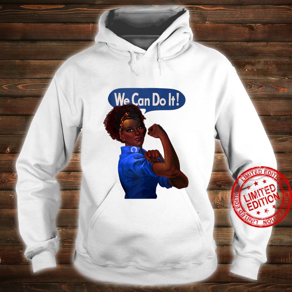 African American Rosie the Riveter Black History Shirt hoodie