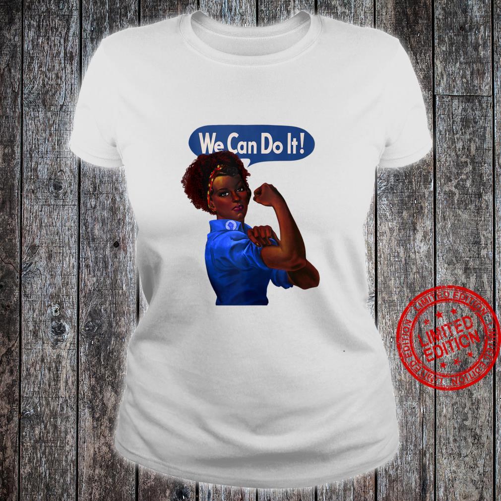 African American Rosie the Riveter Black History Shirt ladies tee