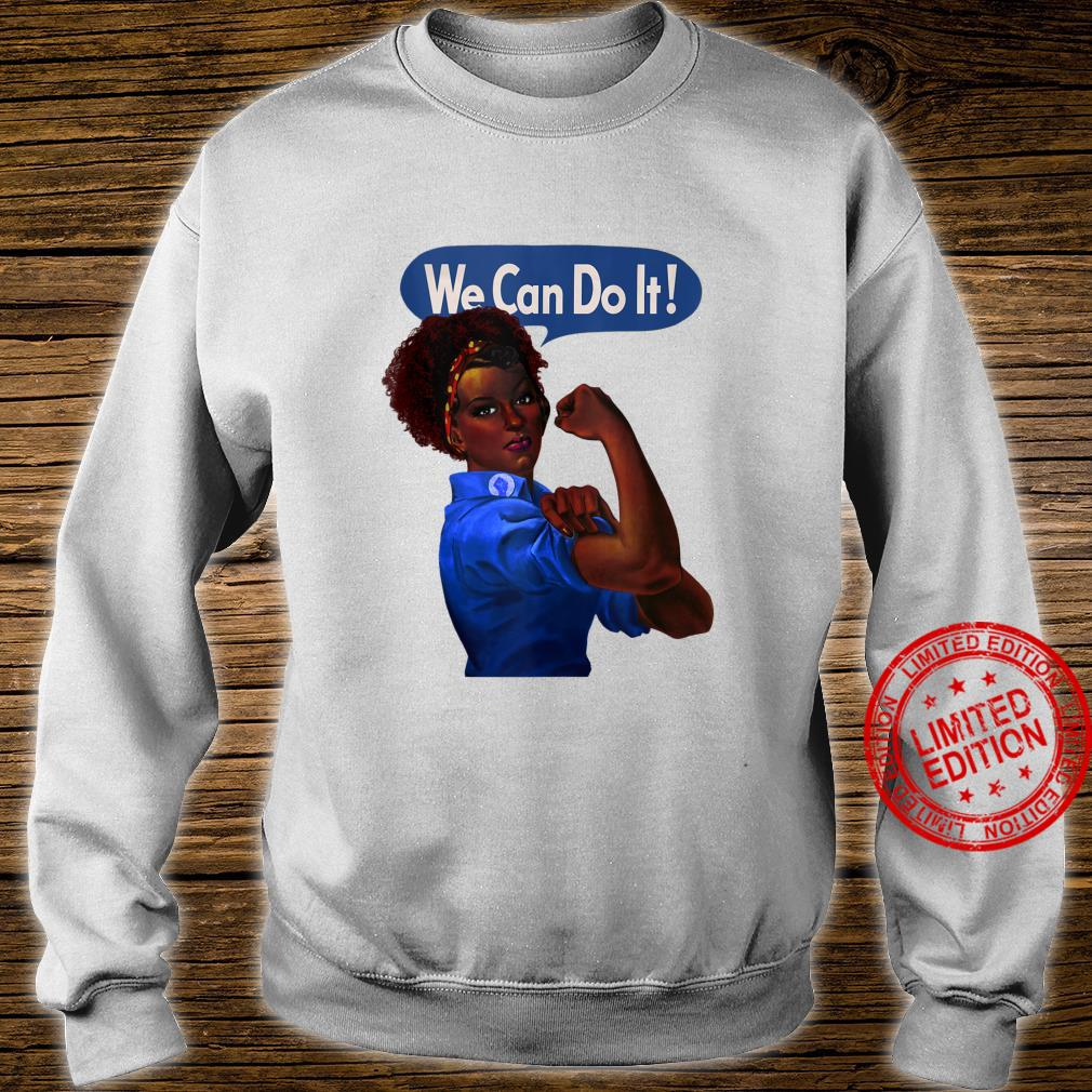 African American Rosie the Riveter Black History Shirt sweater
