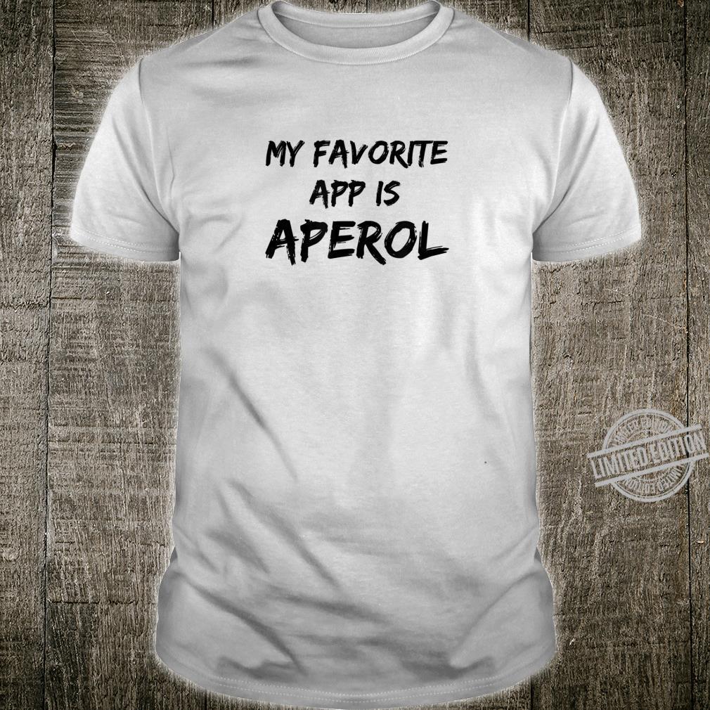 Aperol spritz favorite drink nerd hype bestseller shirt Shirt