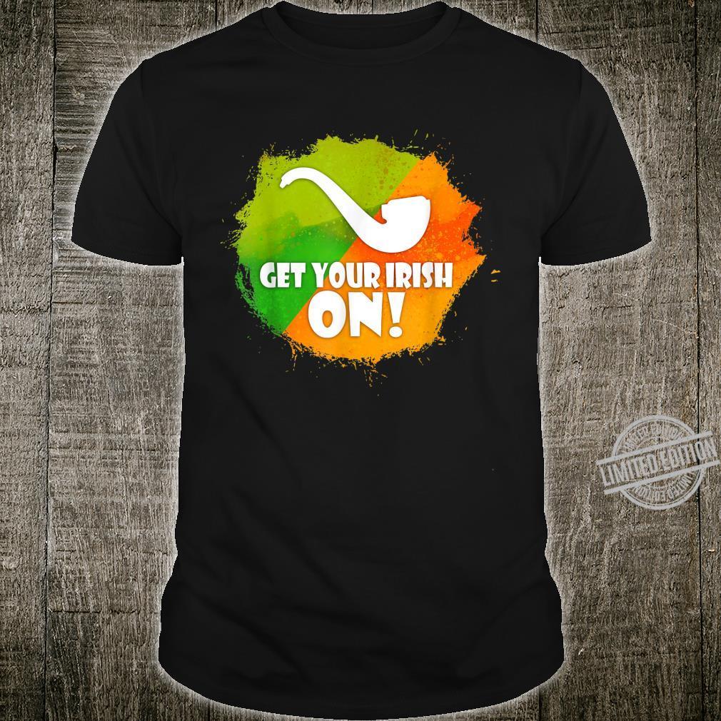 Artistic Pipe Of The Irish Artwork Shirt