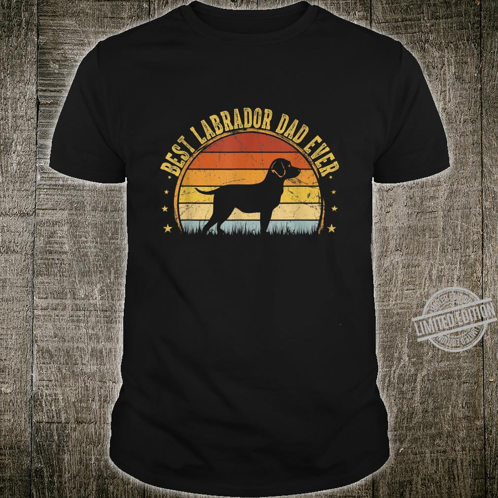Best Labrador Dad Ever Outfit Father's Day Shirt