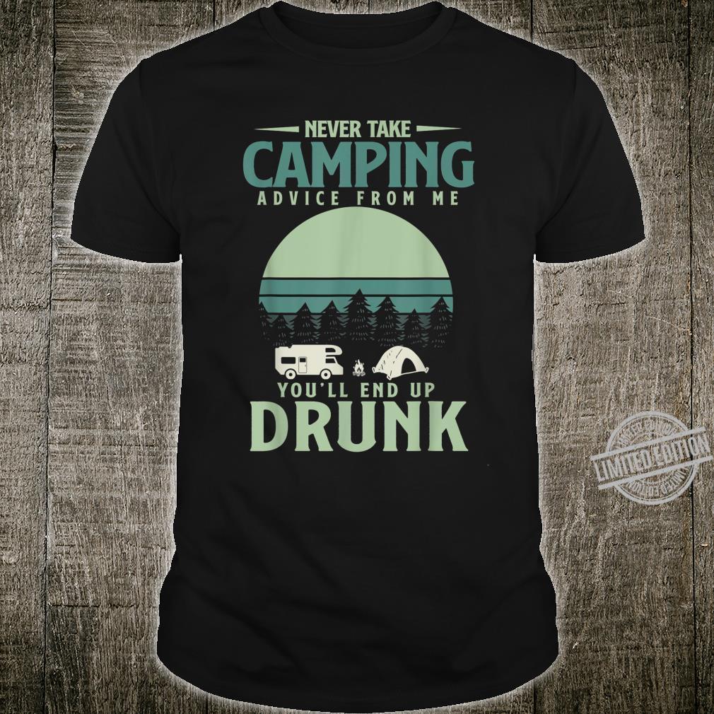 Betrunkenes Camping Shirt