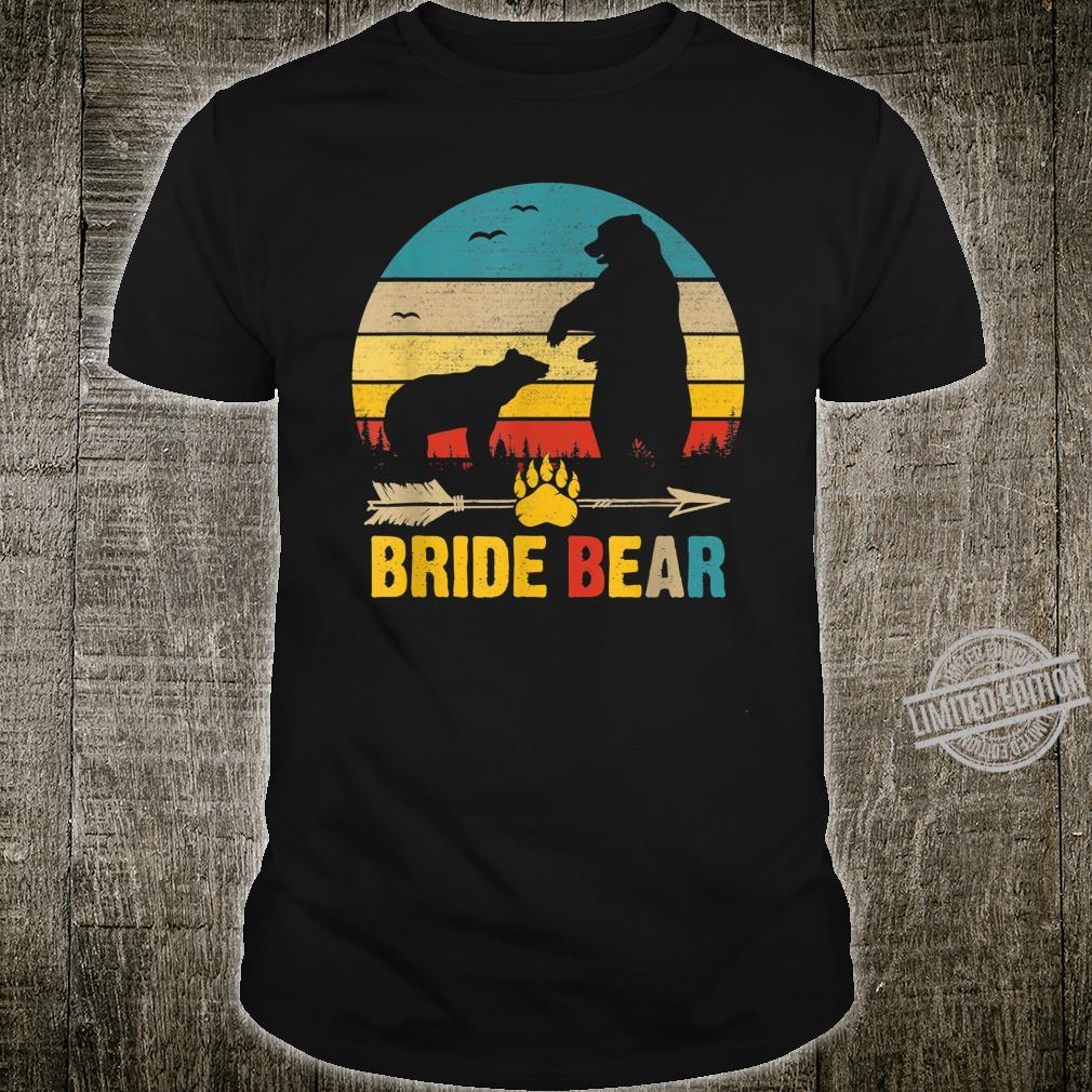 Bride Bear Father's Day Mother's Day Shirt