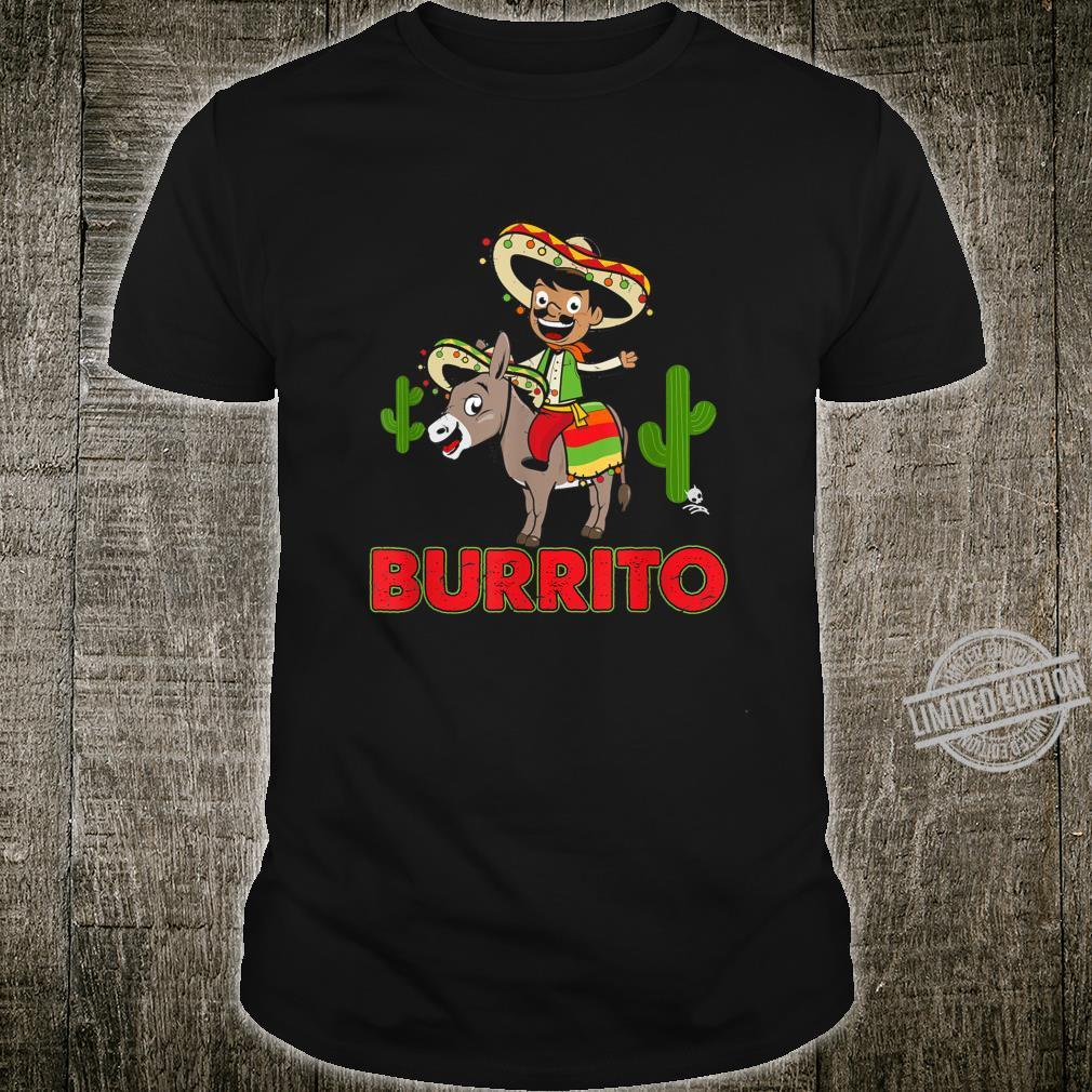 Burrito Donkey Cinco de Mayo Shirt