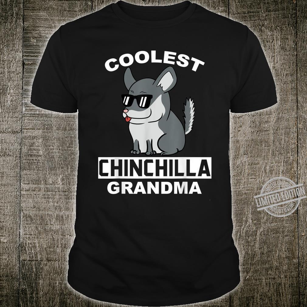 Coolest Eigentlichen Chinchillas Grandma Haustier Großmutter Shirt