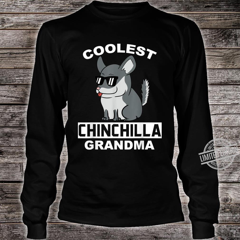 Coolest Eigentlichen Chinchillas Grandma Haustier Großmutter Shirt long sleeved