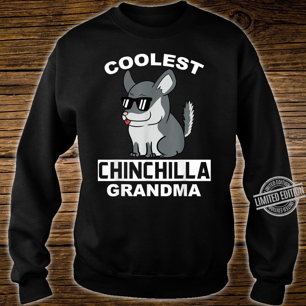 Coolest Eigentlichen Chinchillas Grandma Haustier Großmutter Shirt sweater