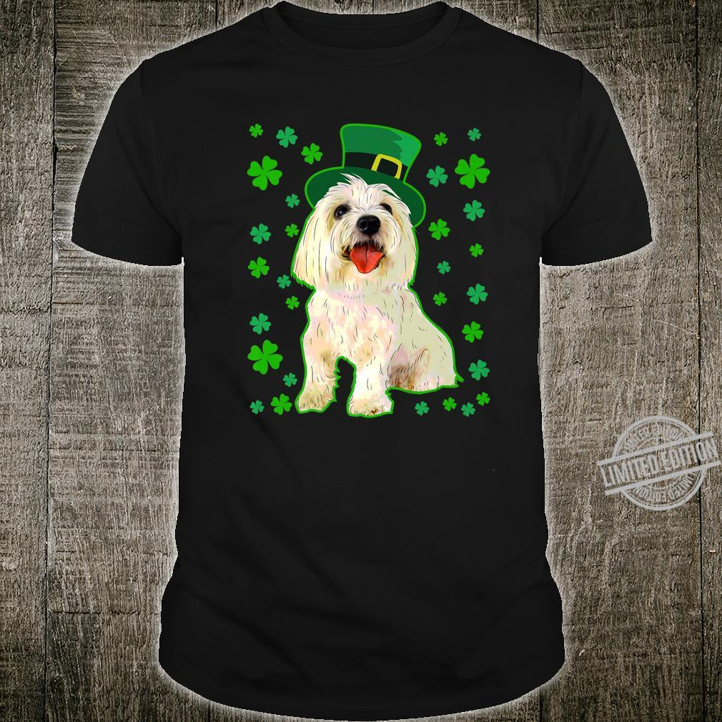 Coton De Tulear Dog St Patrick's Day Owner Mom Dad Shirt