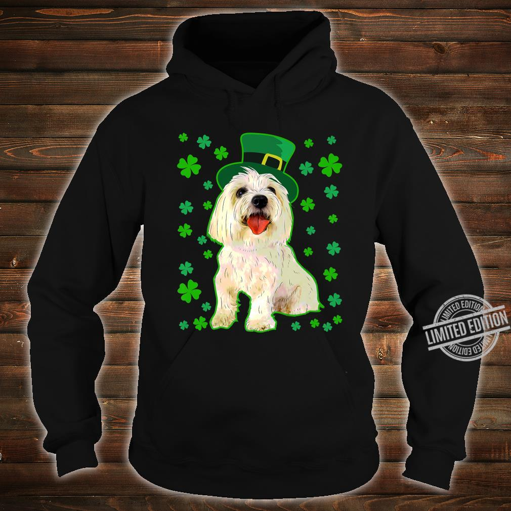Coton De Tulear Dog St Patrick's Day Owner Mom Dad Shirt hoodie