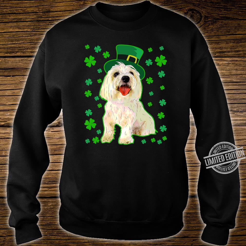 Coton De Tulear Dog St Patrick's Day Owner Mom Dad Shirt sweater