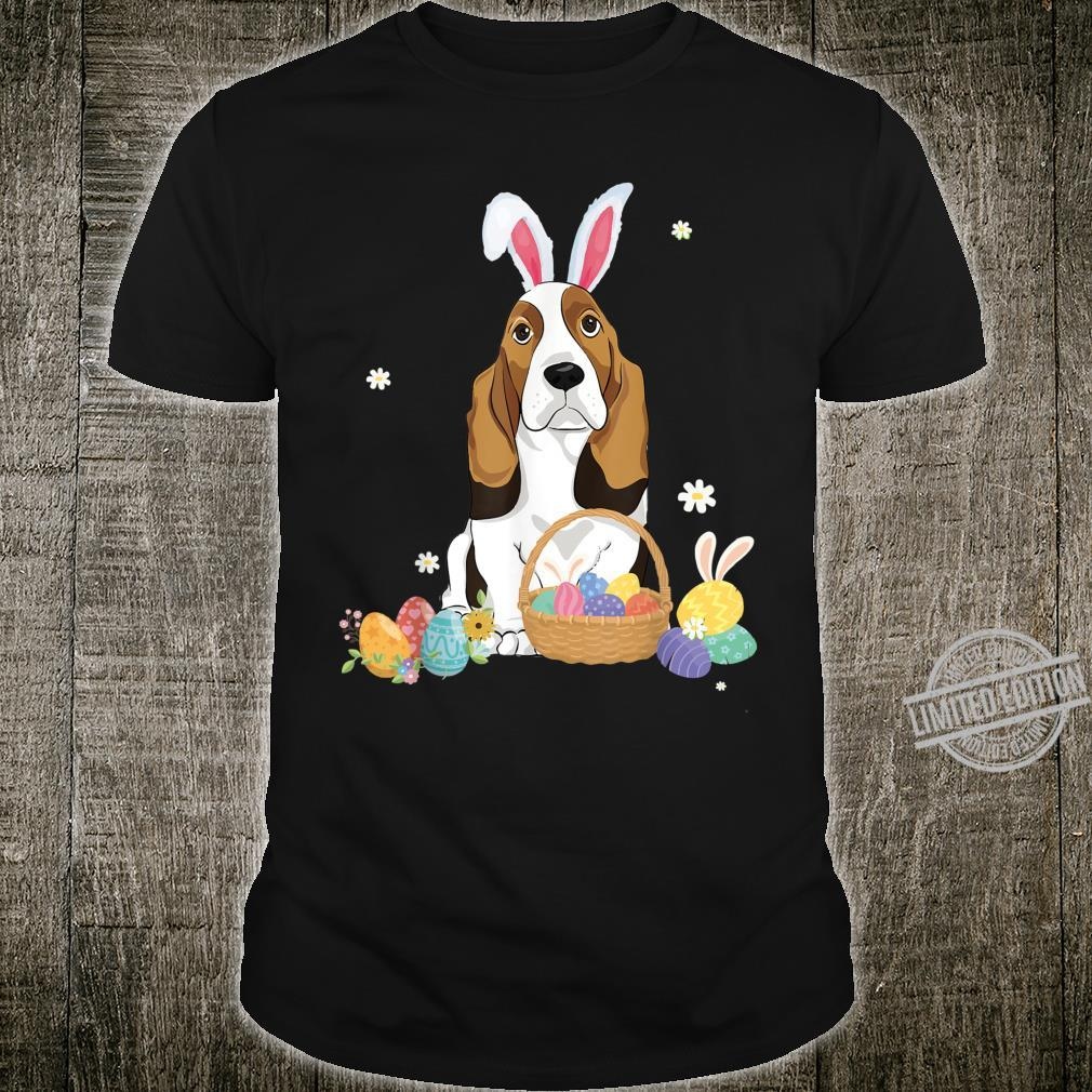 Cute Easter For Basset Hounds Shirt