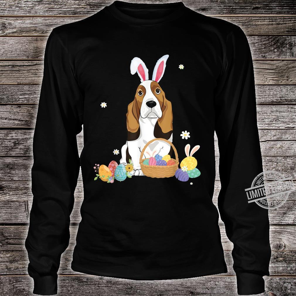 Cute Easter For Basset Hounds Shirt long sleeved
