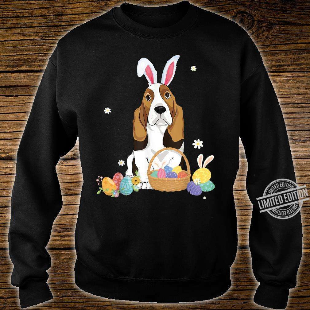 Cute Easter For Basset Hounds Shirt sweater