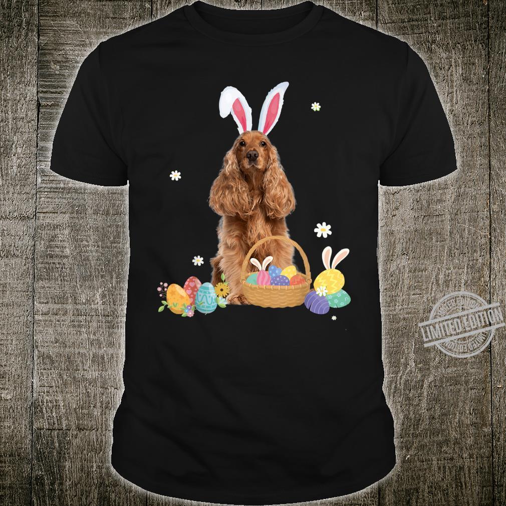 Cute Easter For Cocker Spaniels Shirt