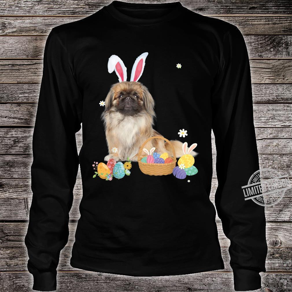 Cute Easter For Pekingeses Shirt long sleeved