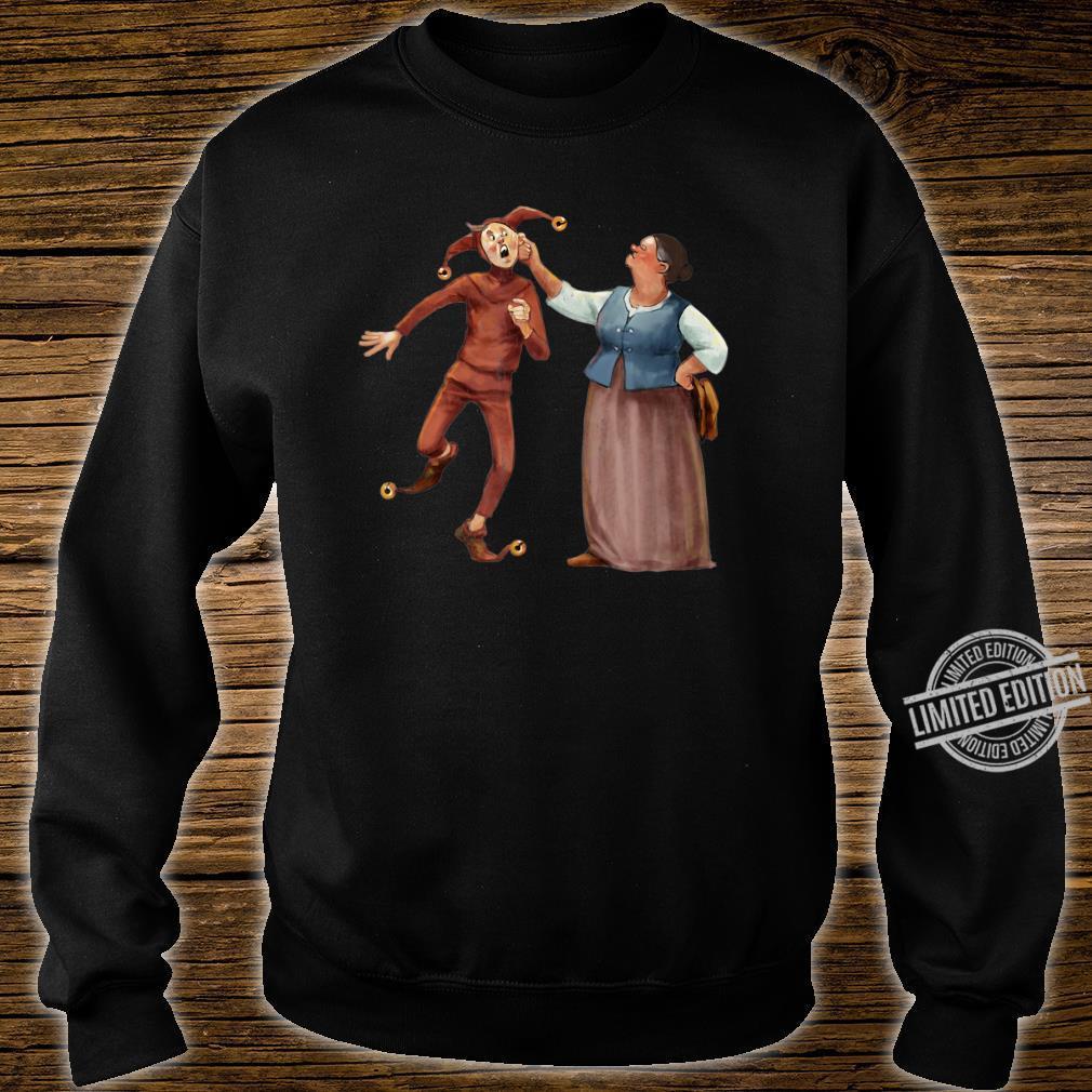 Dem Gaukler Till die Ohren lang ziehen Shirt sweater