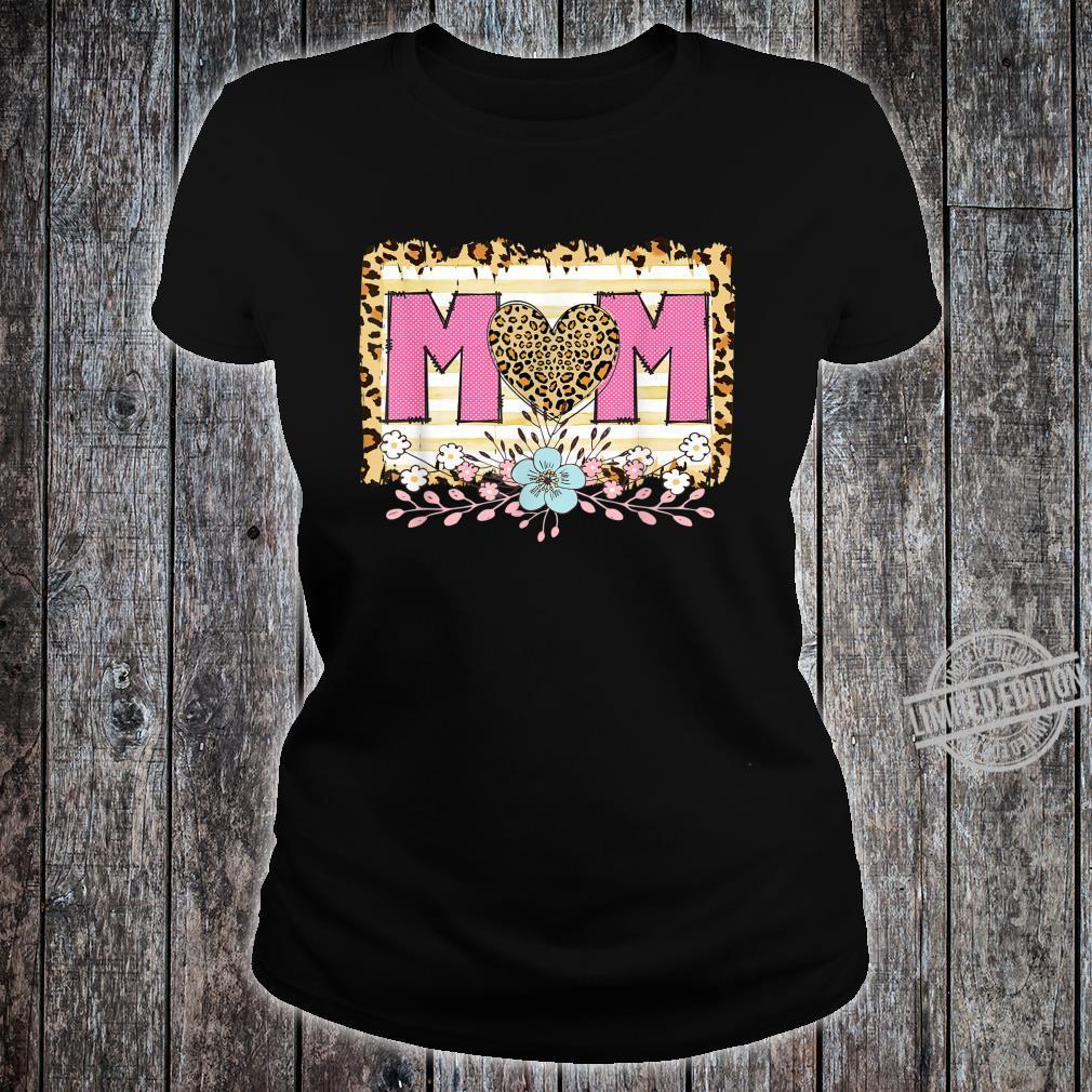 Dia de las Madres Cheetah Print Dia de la madre, Mama Shirt ladies tee