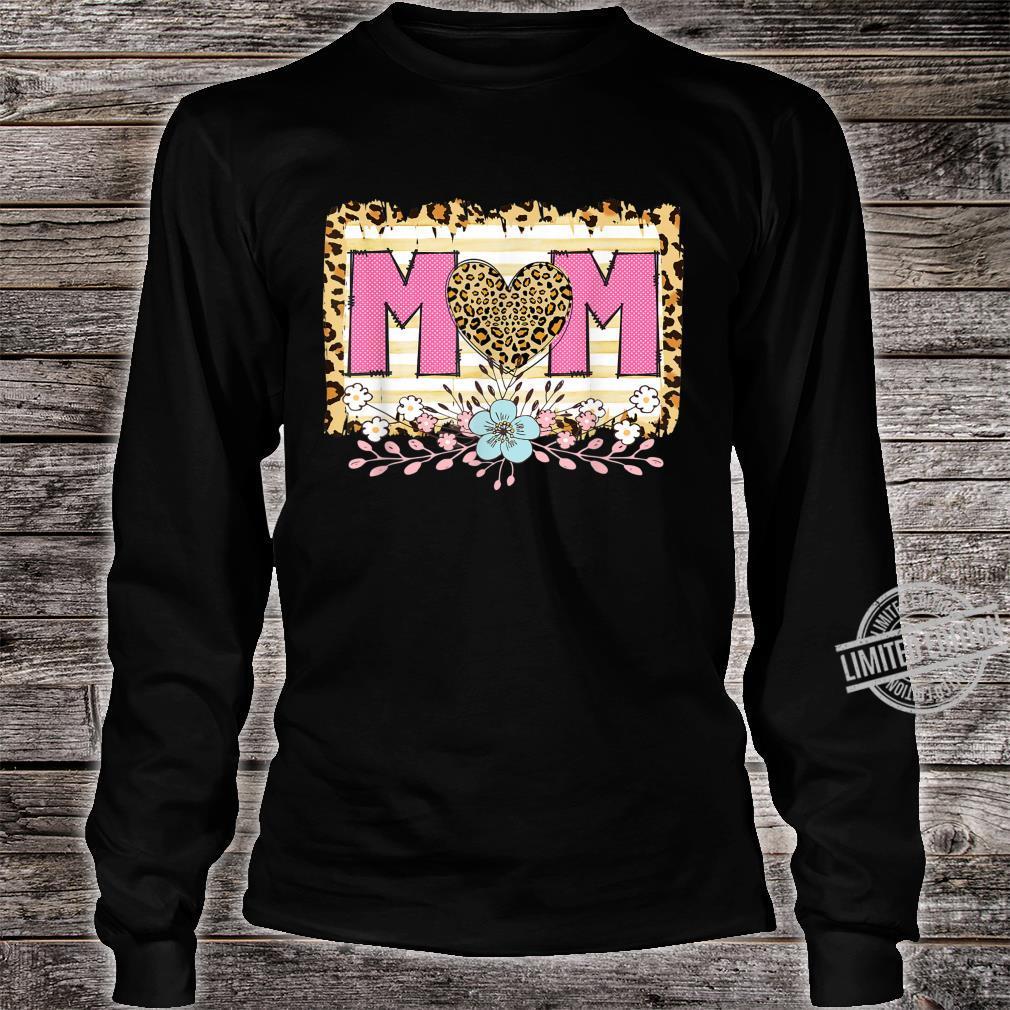 Dia de las Madres Cheetah Print Dia de la madre, Mama Shirt long sleeved