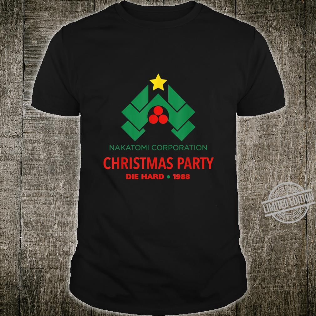 Die Hard Nakatomi Corporation Christmas Party 1988 Shirt