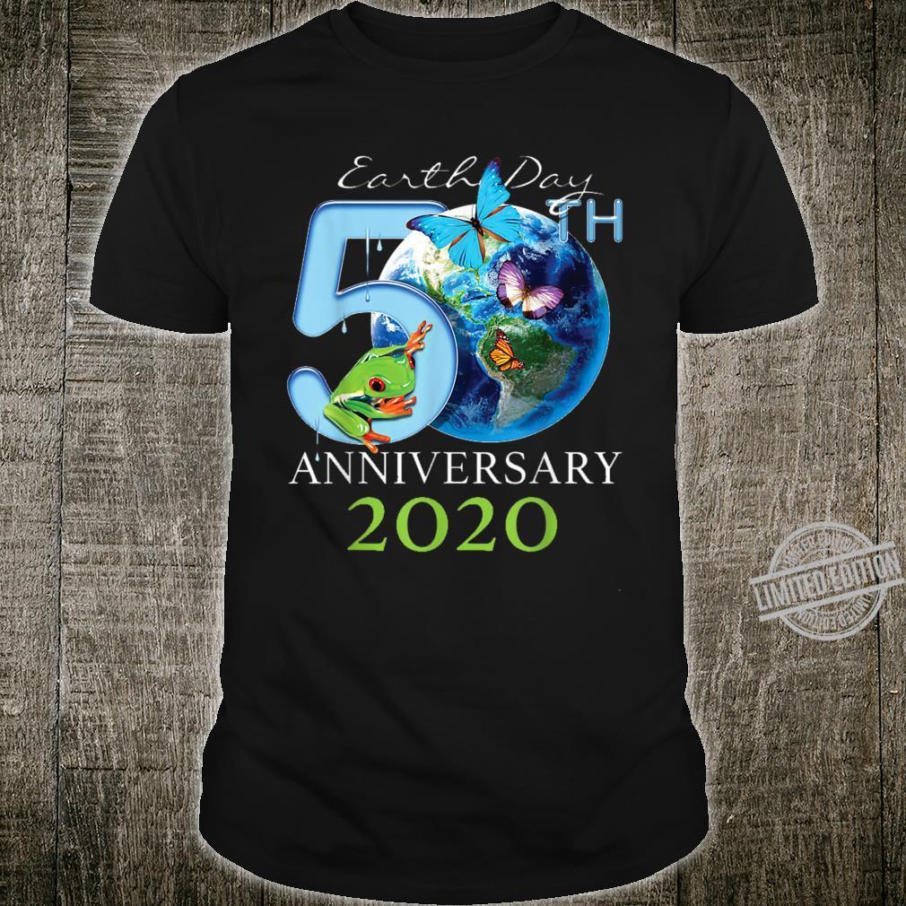 Earth Day 50th Anniversary 2020 Protect Environment Shirt