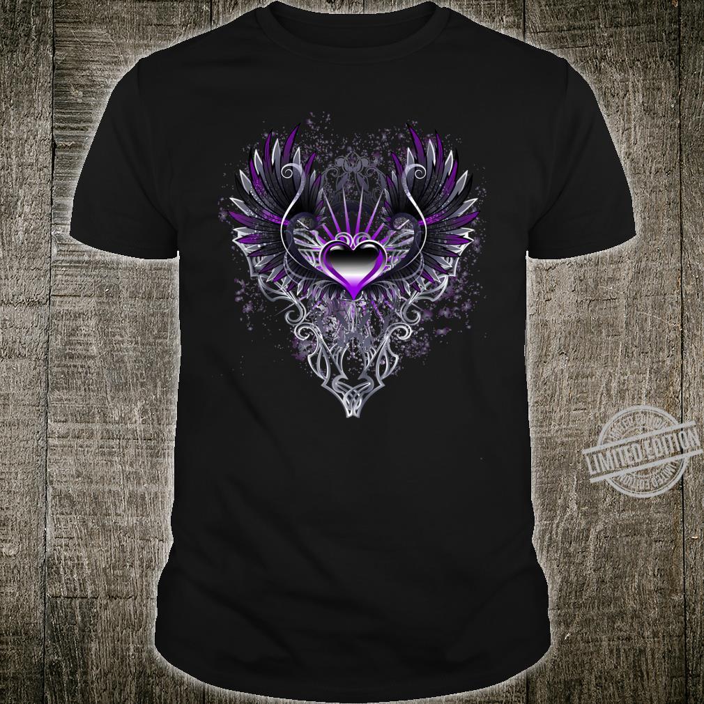 Fallen Angel Wings Dark Goth Clothing Heart Shirt