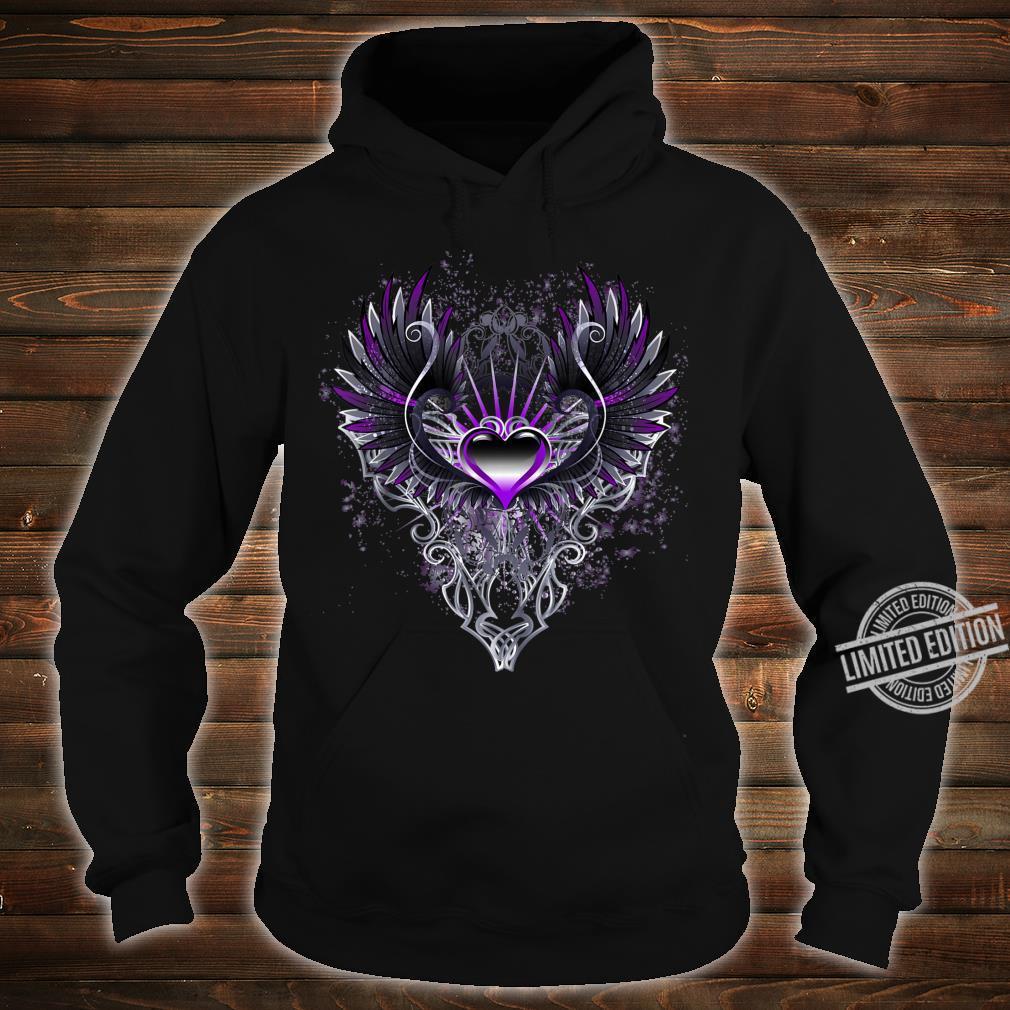Fallen Angel Wings Dark Goth Clothing Heart Shirt hoodie