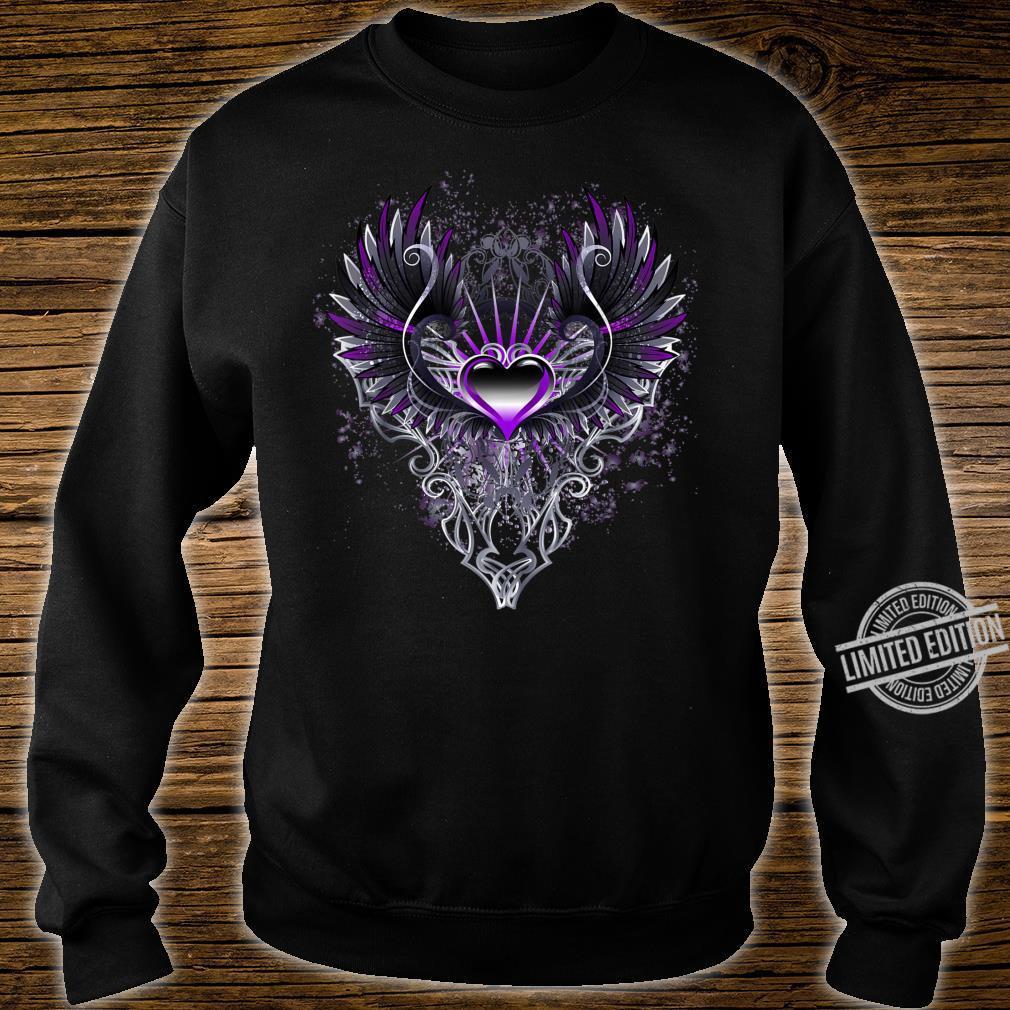 Fallen Angel Wings Dark Goth Clothing Heart Shirt sweater