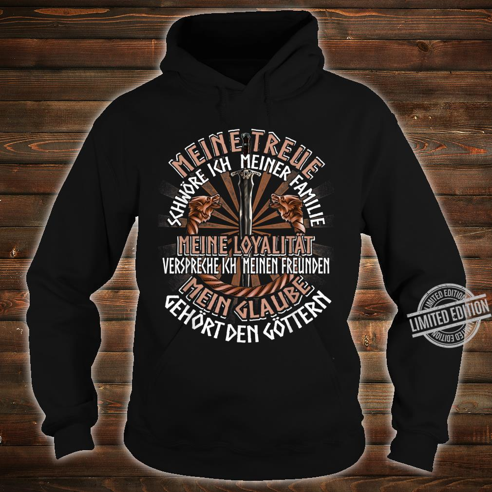 Family Friends Gods German Clothing Quote Viking Shirt hoodie
