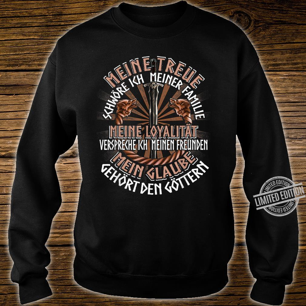 Family Friends Gods German Clothing Quote Viking Shirt sweater