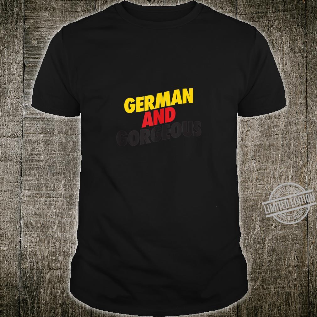 German and Gorgeous Valentine Oktoberfest for Her Shirt
