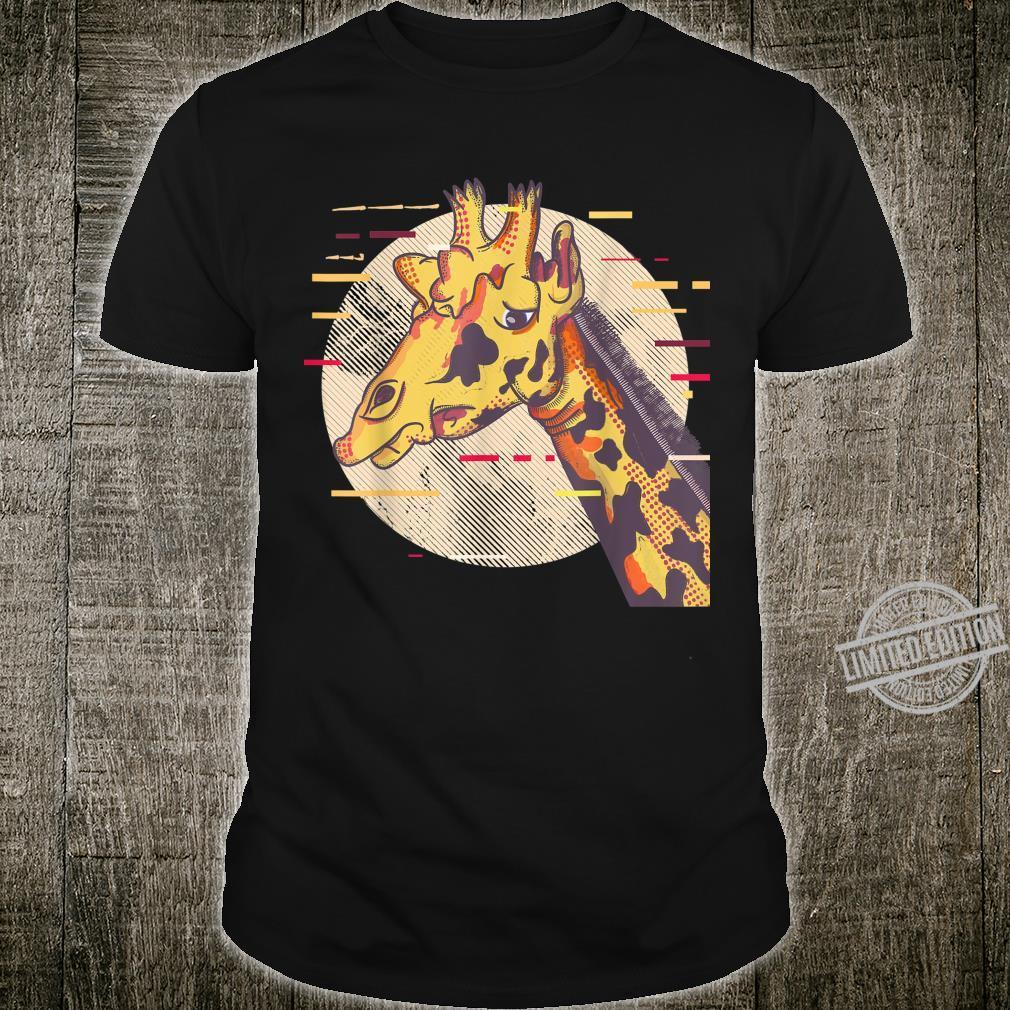 Giraffengesicht Giraffe Face Shirt