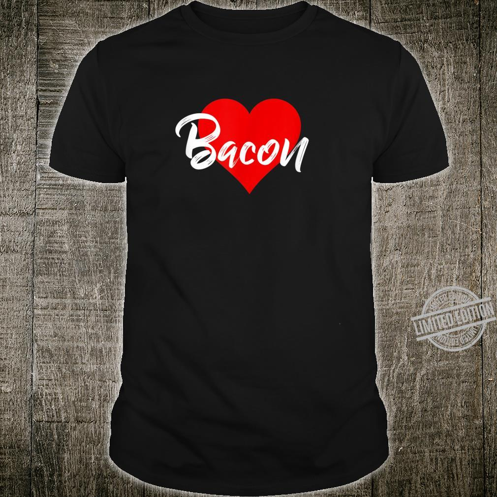 I Love Bacon Meat Pork Girls Shirt