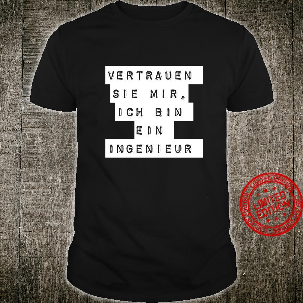 Ingenieur Geschenk Männer oder Frauen Technik Langarmshirt Shirt