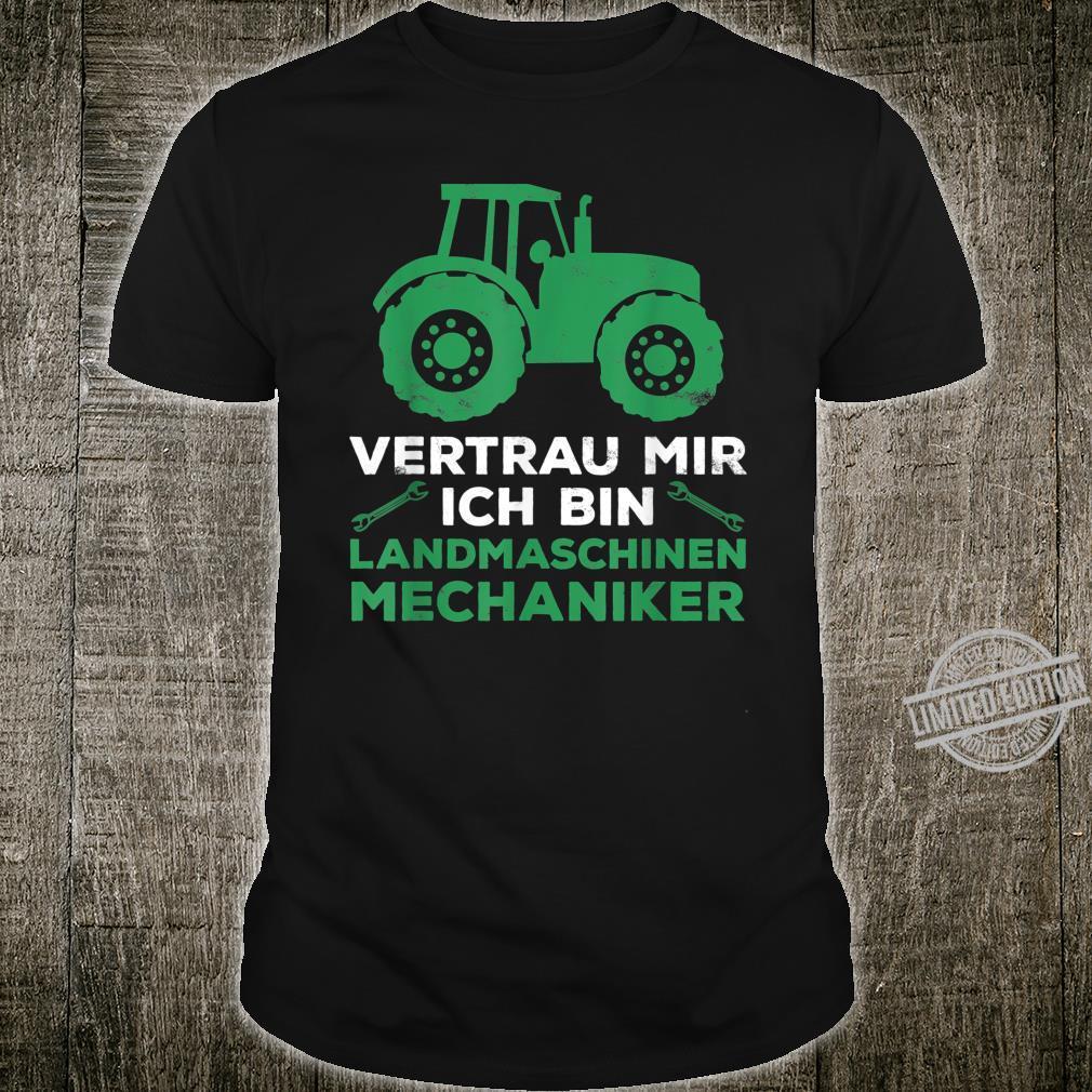 Landmaschinen Landmaschinenmechaniker Meister Shirt