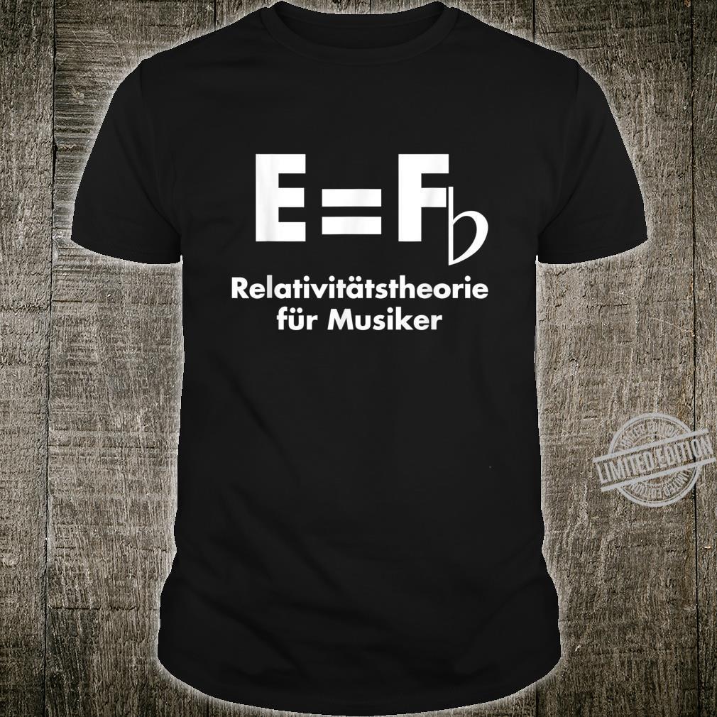 Lustiges E ist F Shirt
