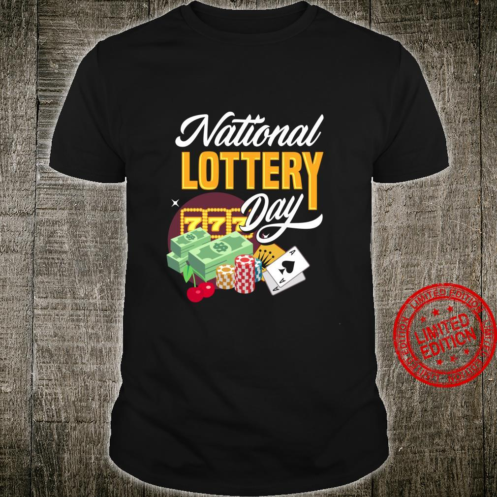 National Lottery Day Shirt