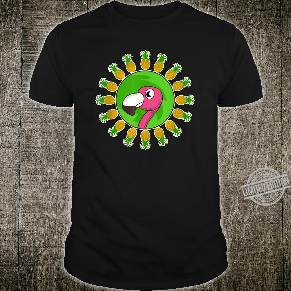 Party Like A Pineapple Cute Unique Flamingo Shirt