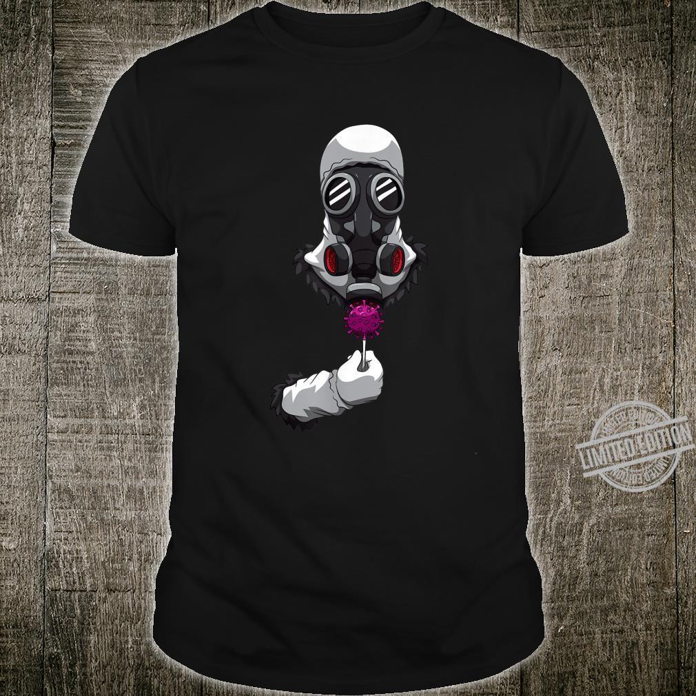 Respirator Mask Virus Flower Breathing Mouthguard Shirt