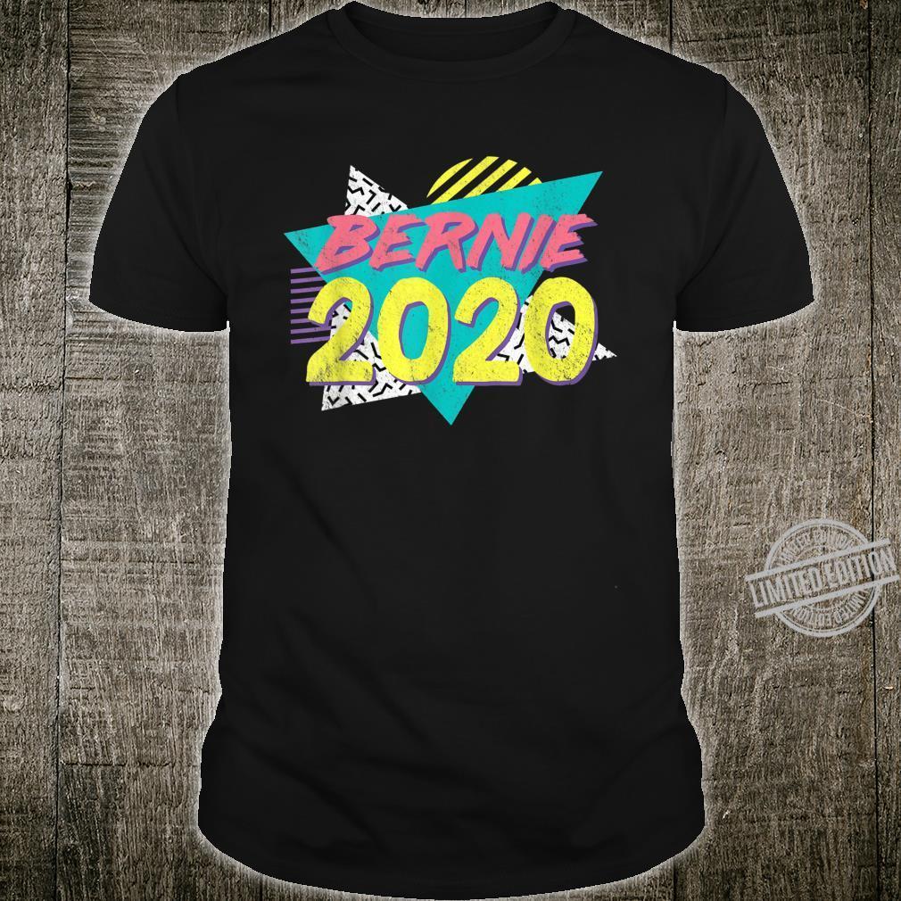 Retro Vintage Bernie Sanders 80s 90s Vaporwave Aesthetic Shirt