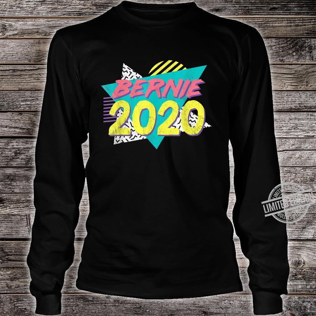 Retro Vintage Bernie Sanders 80s 90s Vaporwave Aesthetic Shirt long sleeved