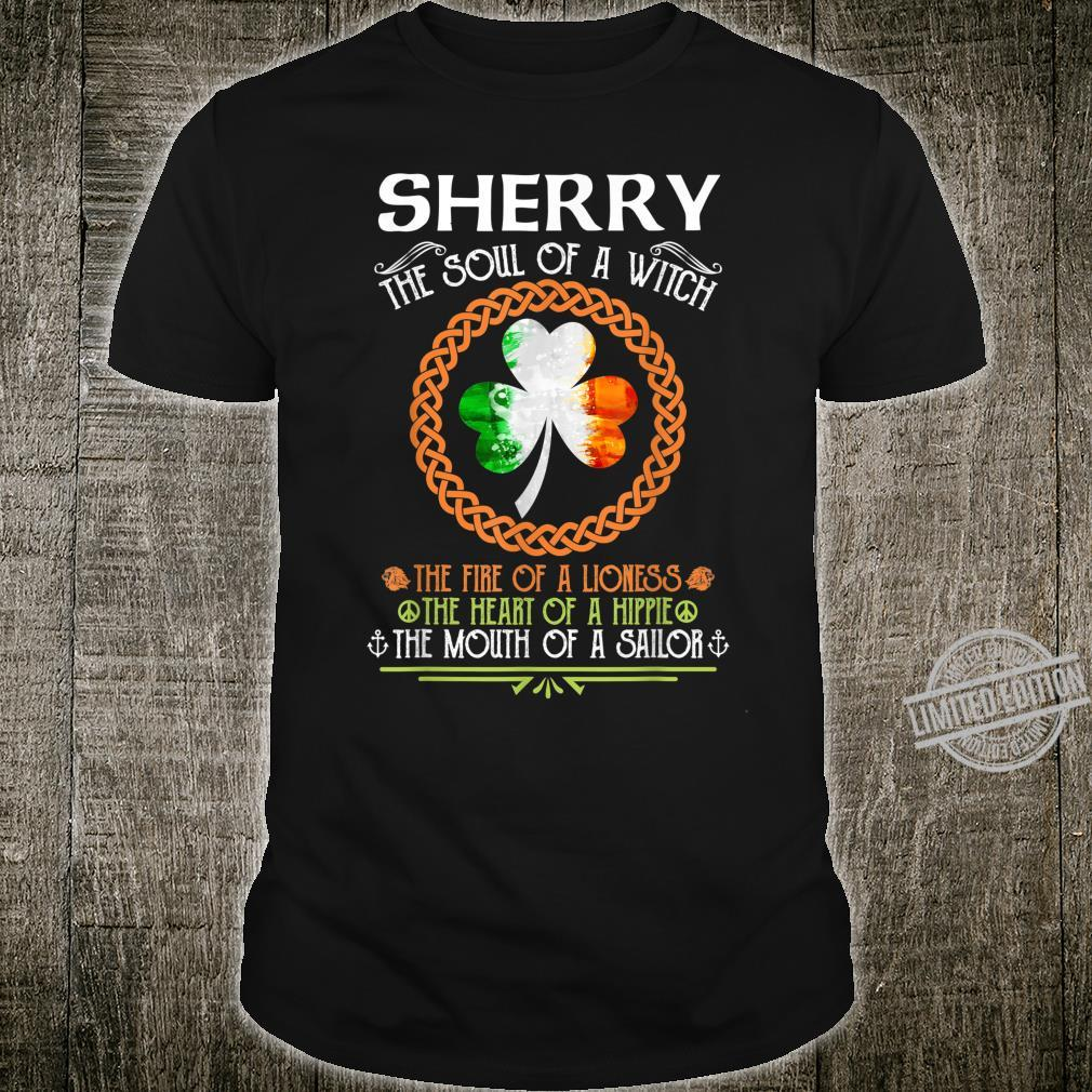 SHERRY the soul of a witch mermaid st patricks day Shirt