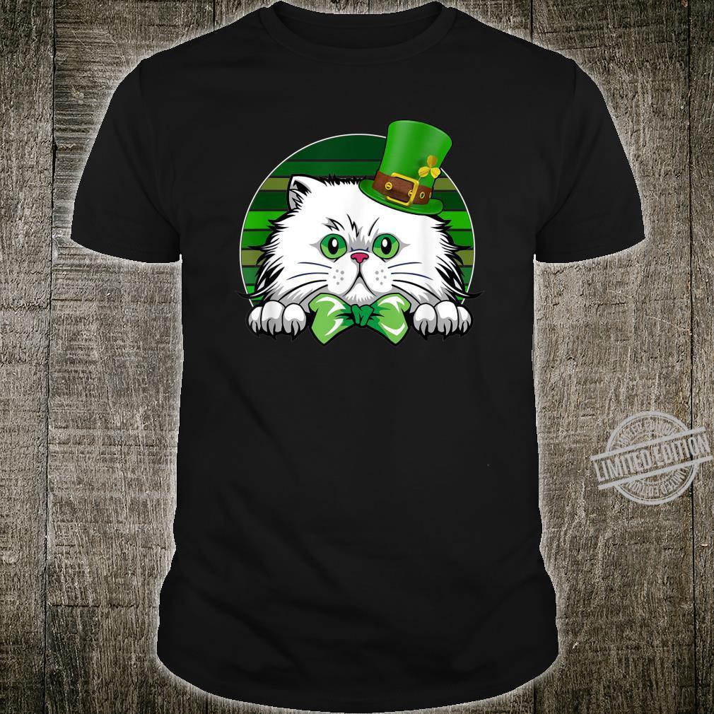 Saint Catrick's Catty's Cat St. Patrick's Day Paddy's Shirt
