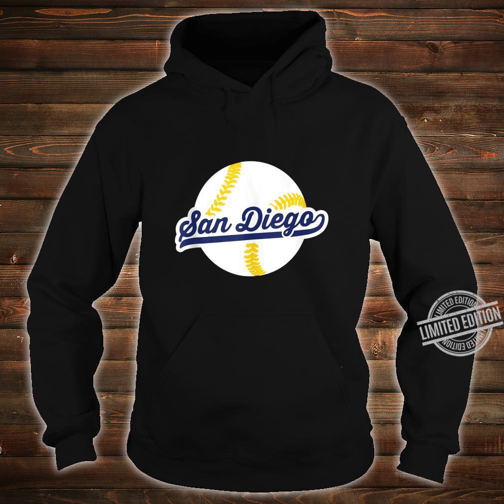 San Diego Baseball Vintage Pride Love City Shirt hoodie