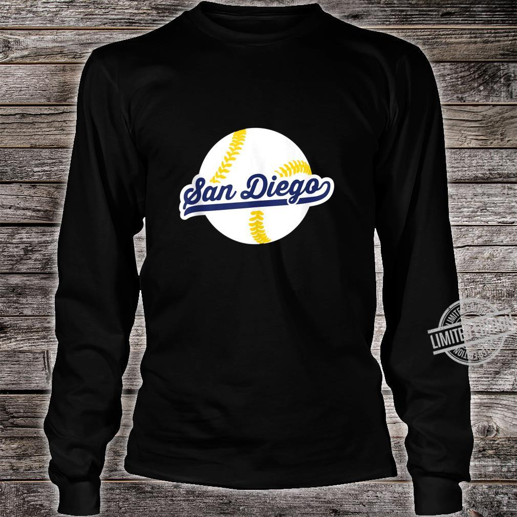 San Diego Baseball Vintage Pride Love City Shirt long sleeved