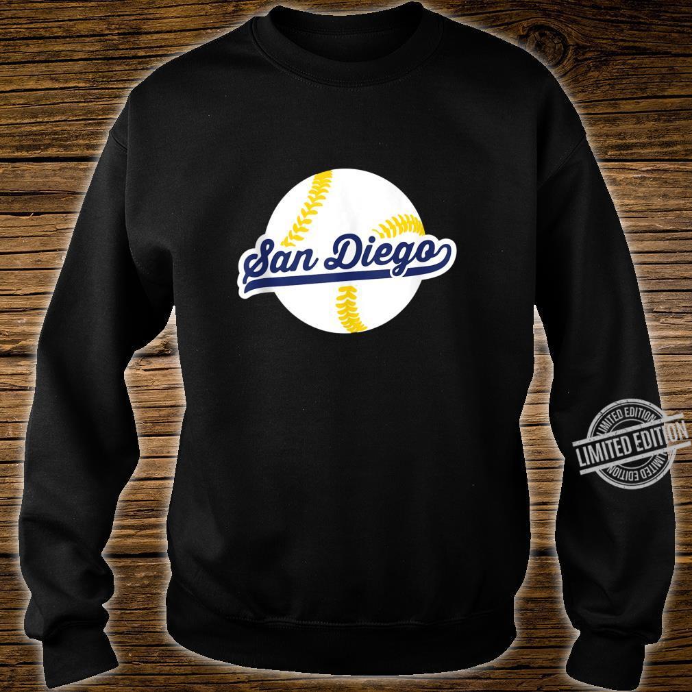 San Diego Baseball Vintage Pride Love City Shirt sweater