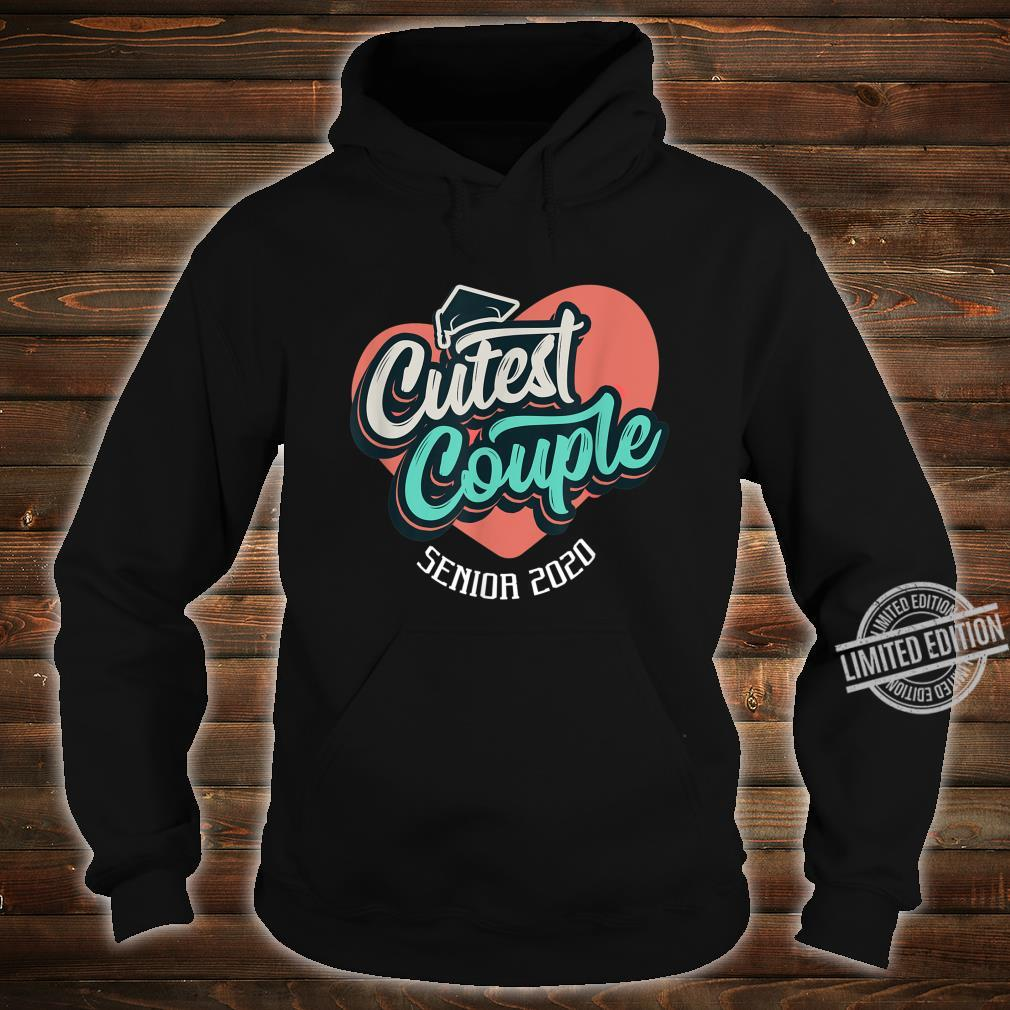 Senior 2020 Cutest Couple Yearbook Superlatives Shirt hoodie